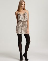Parker Animal Print Cami Dress