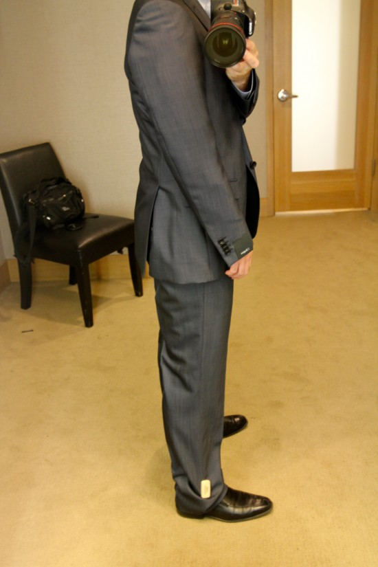 Taking a look at a Zegna Suit - Fashables