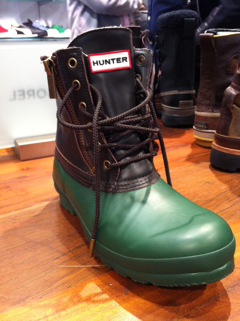 hunter boots fashables