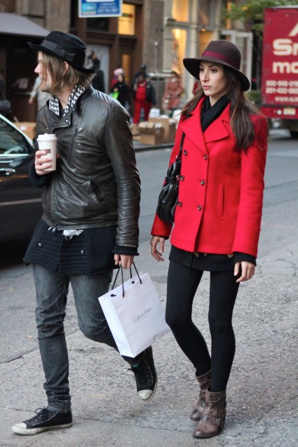 Peeps from the Streets     Nov 2Troian Bellisario Street Style