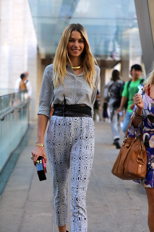 model street style fashion