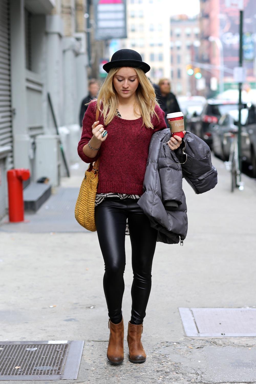 Street Style Fashion: Fur Spotting - Fashables