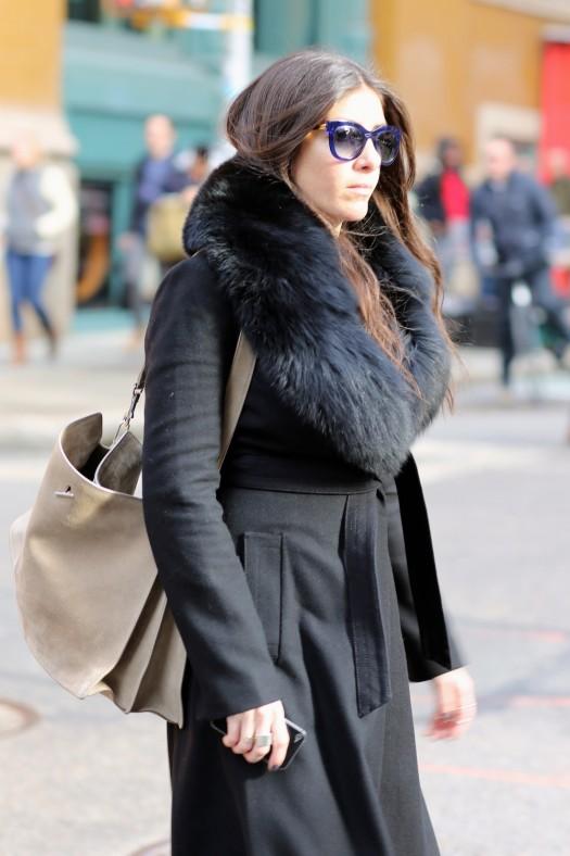 womens street style fsahion coat