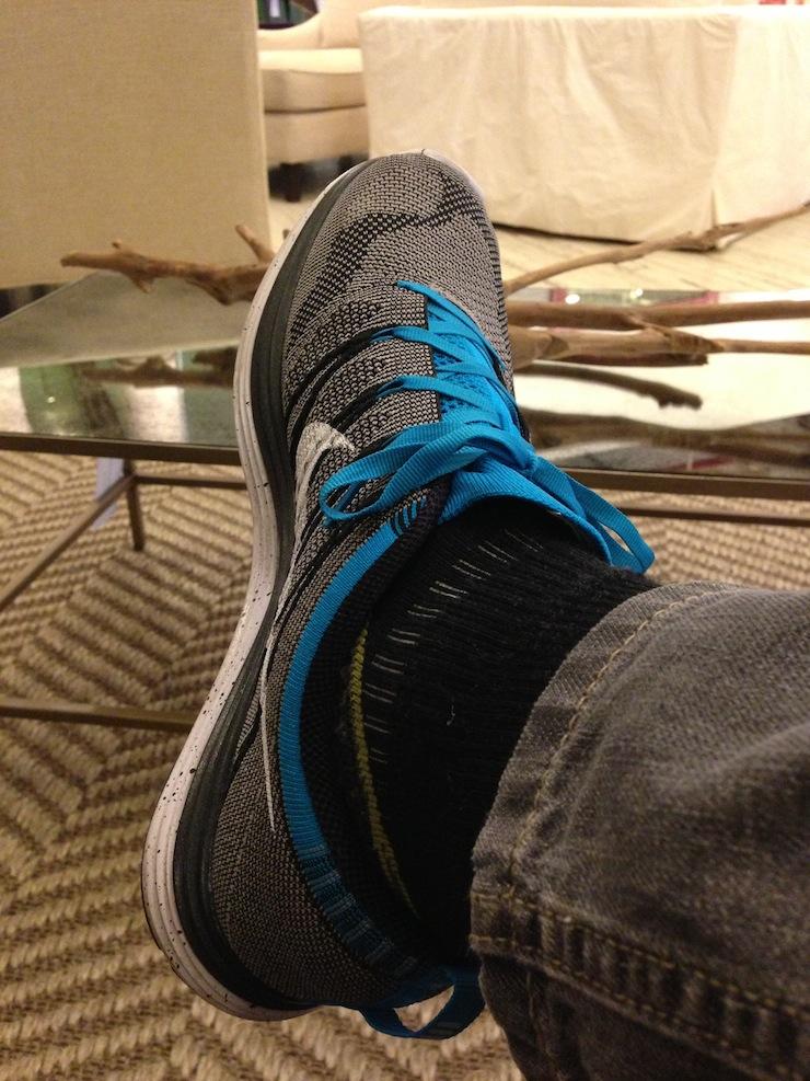 Loving the Nike Flyknit Lunar 1+
