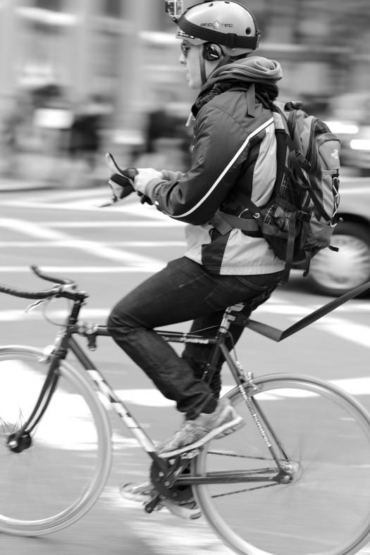 nyc cyclist