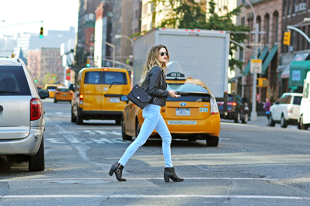 A Stylish NYC Walk